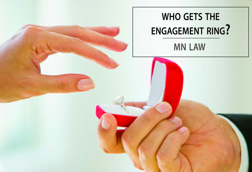 Who Gets engagement Ring MN